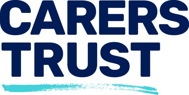 Carers Trust logo in CMYK format against white background