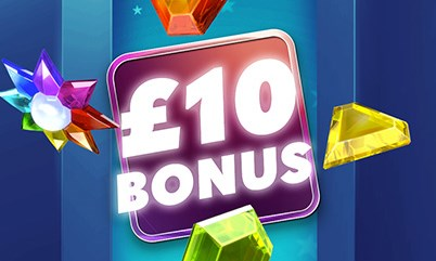 £10 bonus to play any game